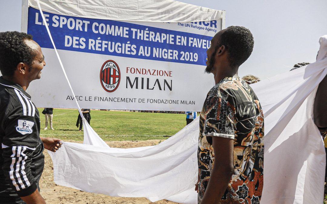 Nuovo impianto sportivo grazie a Fondazione Milan