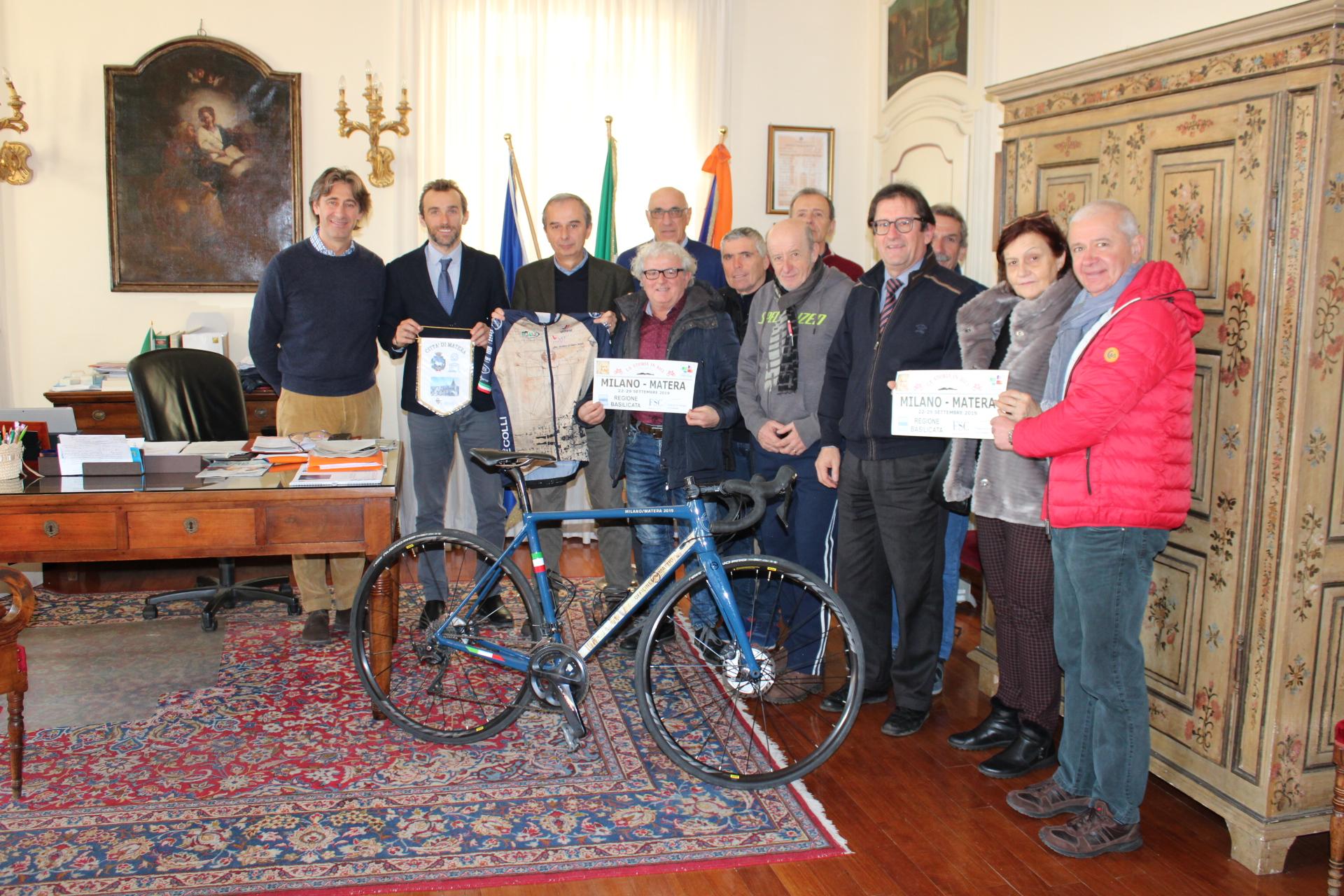 """I pedalatori braidesi de """"La Storia in bici"""""""