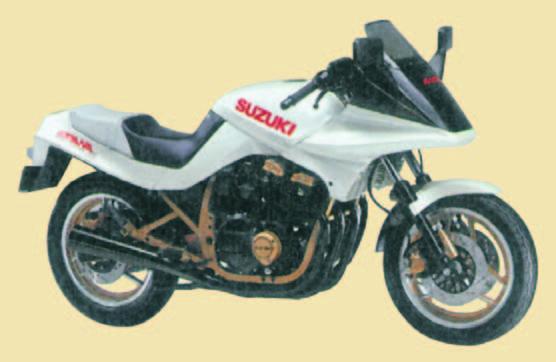 Una Special dedicata alla Katana 750 del 1984