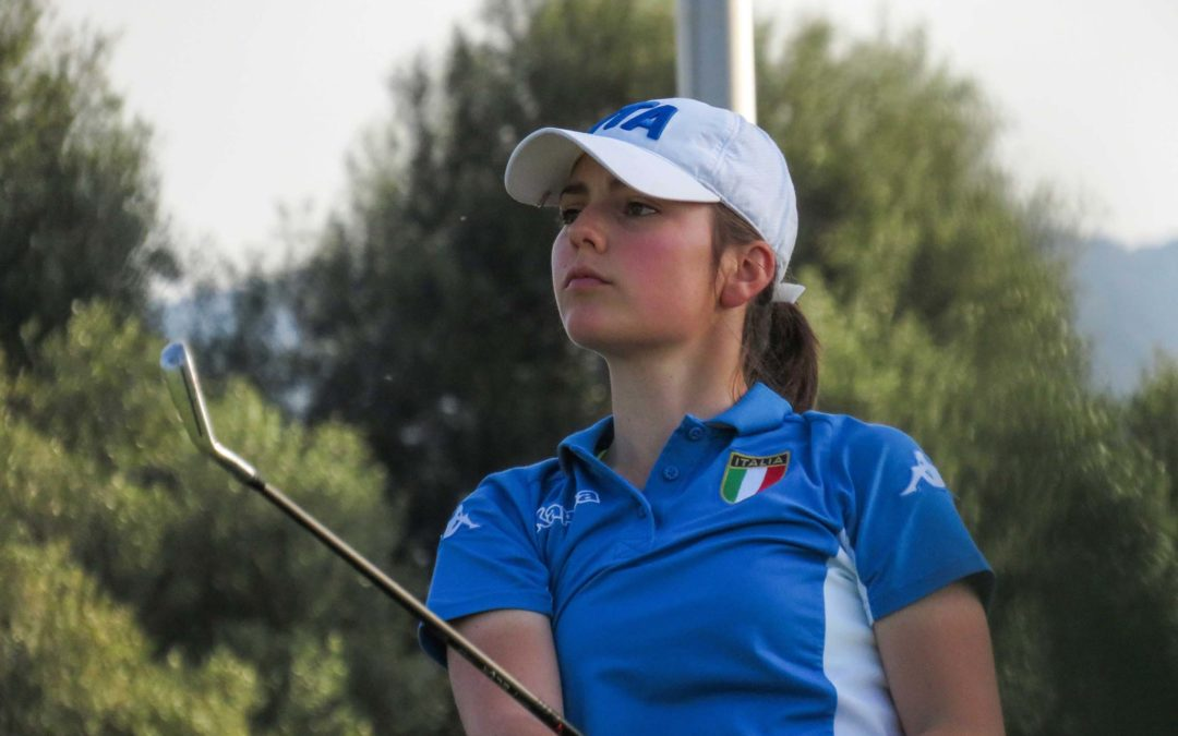 4 AZZURRE ALL' AUGUSTA NATIONAL WOMEN'S AMATEUR CHAMPIONSHIP