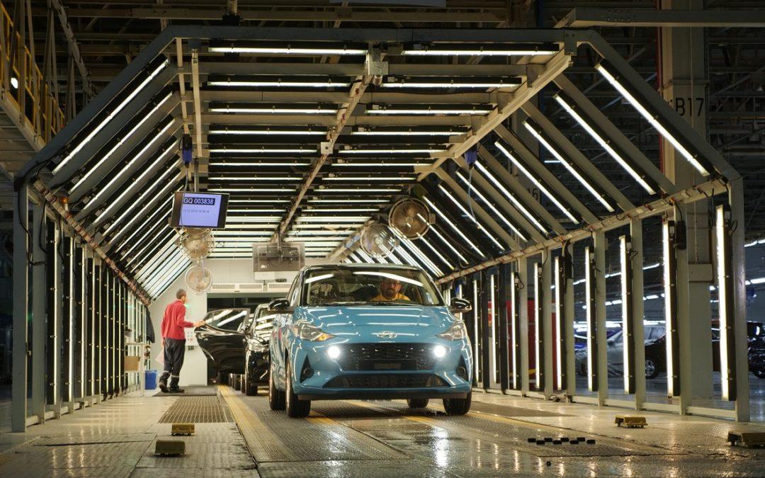 Hyundai i10: inizia la produzione in Europa per l'Europa