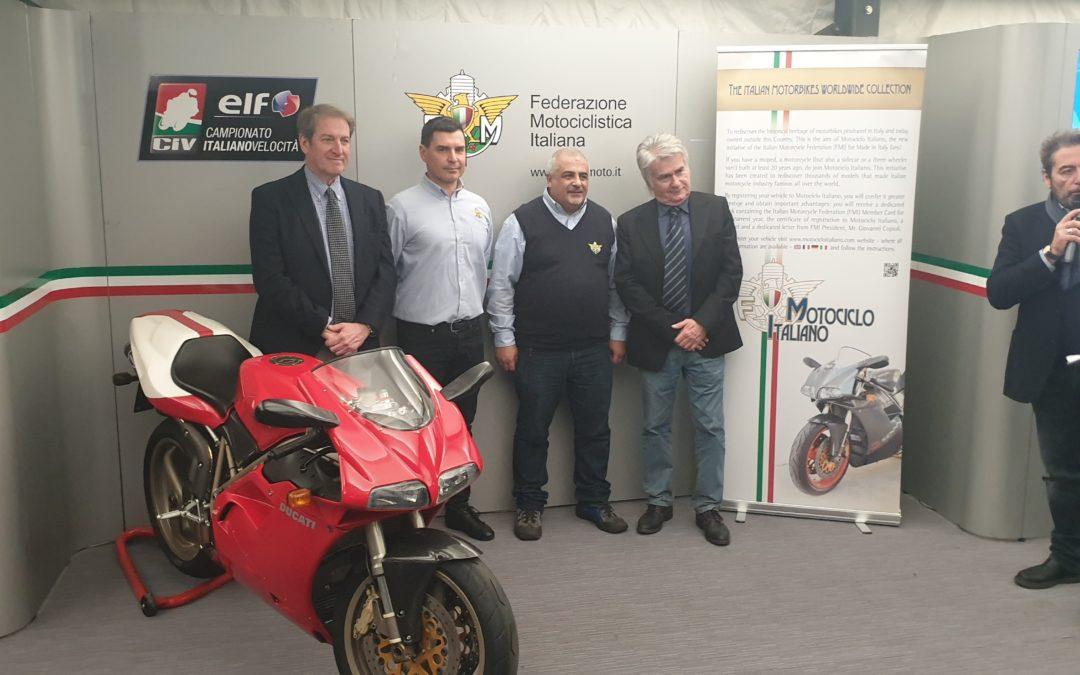 """Presentato il nuovo progetto FMI """"Motociclo Italiano"""""""