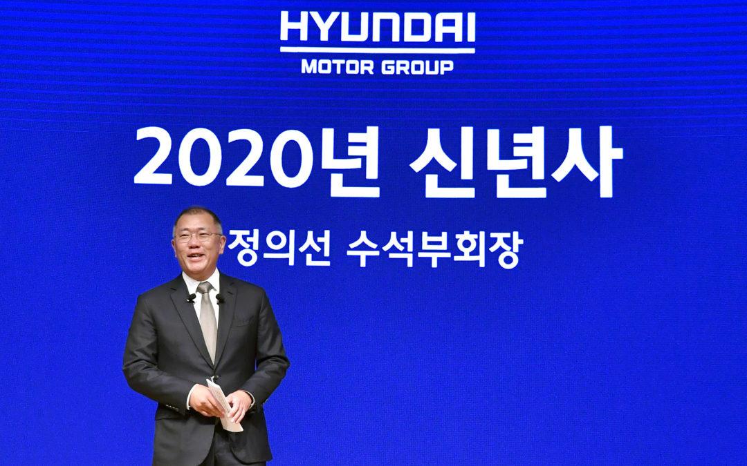 Hyundai Motor Group: cerimonia per il Nuovo Anno 2020