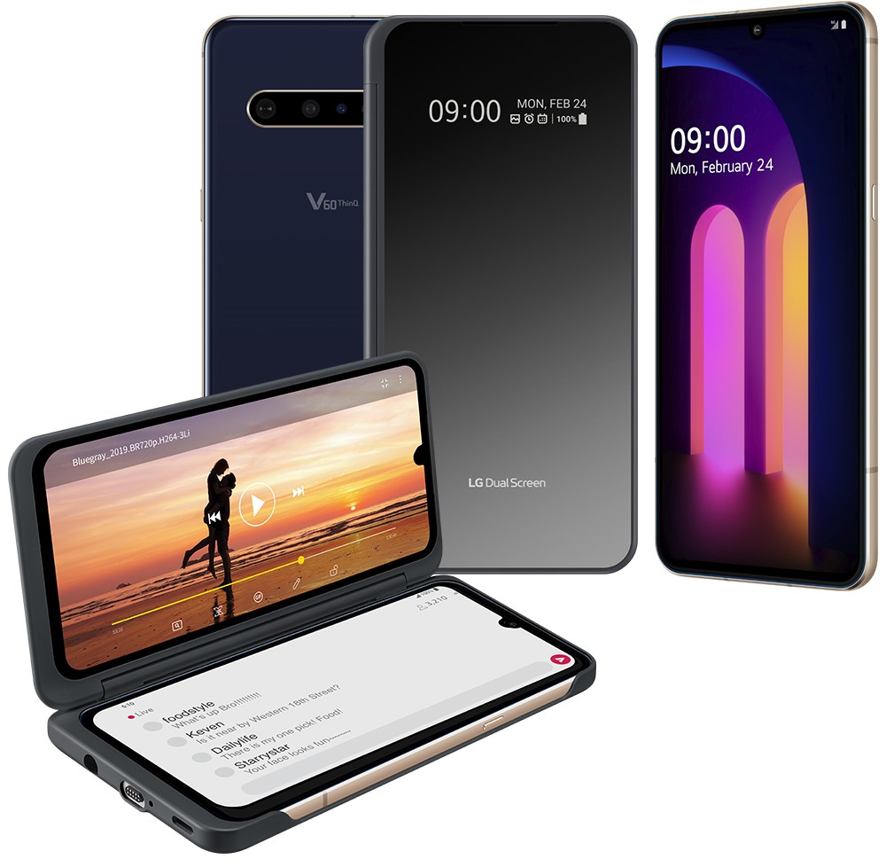 LG ANNUNCIA LG V60THINQ 5G