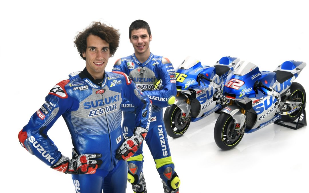 Il Team Suzuki Ecstar si veste di blu e argento