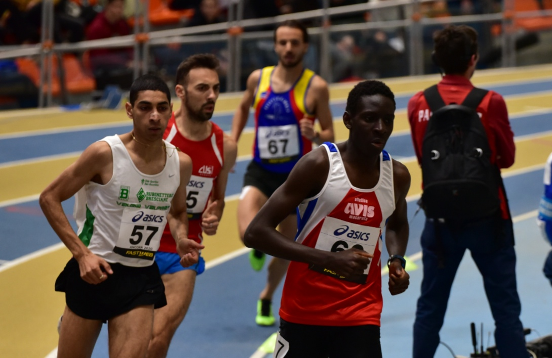 Dieng ancora record nei 1500 indoor di Ancona