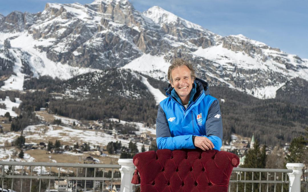 I volti dello sci a Cortina d'Ampezzo