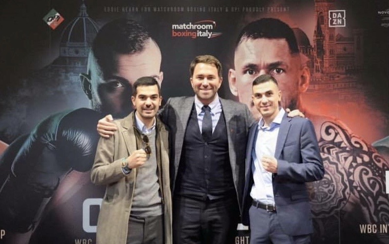 L'Opi Since 82 e Matchroom Boxing premiate dall'EBU