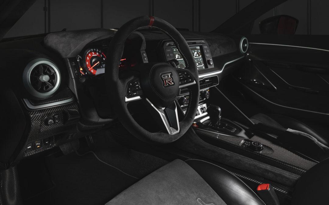 Interni in Alcantara per la Nissan GT-R50 by Italdesign