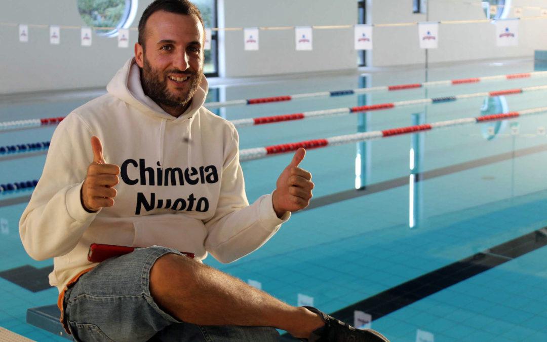 L'olimpionica Polieri a colloquio con i tecnici della Chimera Nuoto