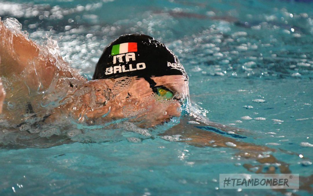 Nuoto, Stefano Ballo punta a farsi trovare pronto