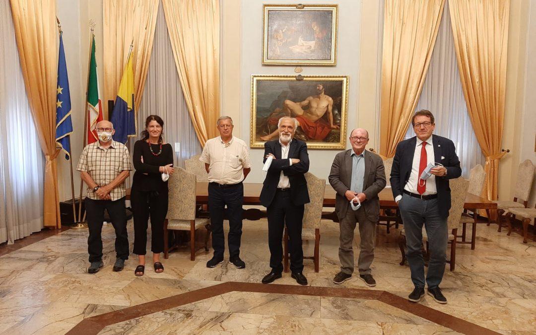 Il presidente Fidal Alfio Giomi a Modena