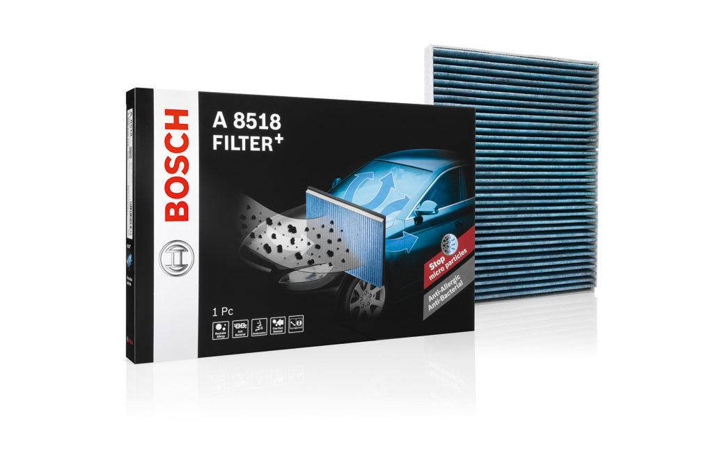 I filtri abitacolo Bosch
