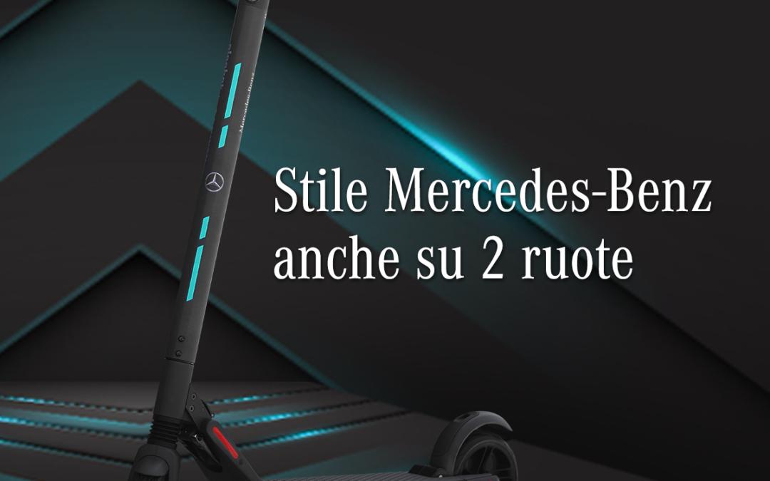 Bici e monopattini protagonisti nella Mercedes-Benz Collection
