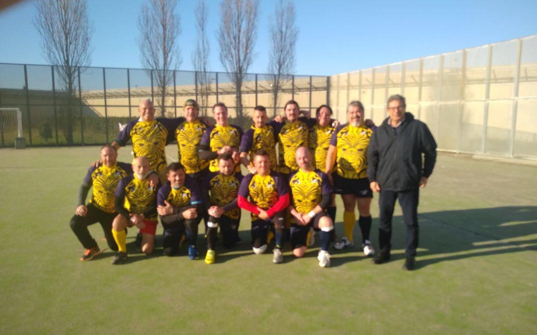 Rugby: la squadra delle 'Pecore Nere'