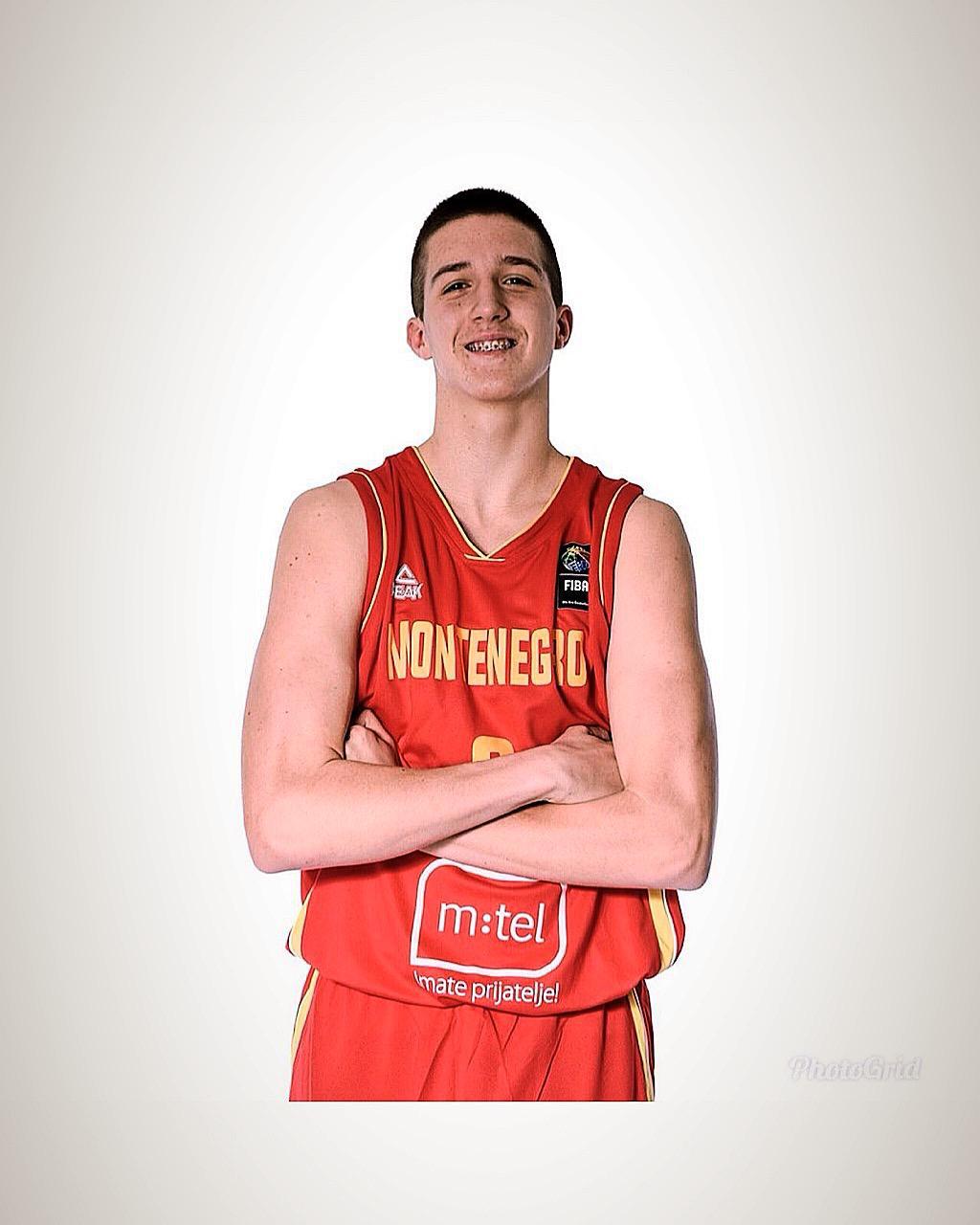 Il giovane talento montenegrino Okiljevic