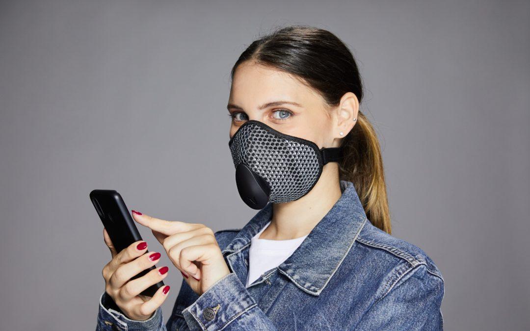 Arriva Narvalo Urban Mask la mascherina che dialoga con lo smartphone
