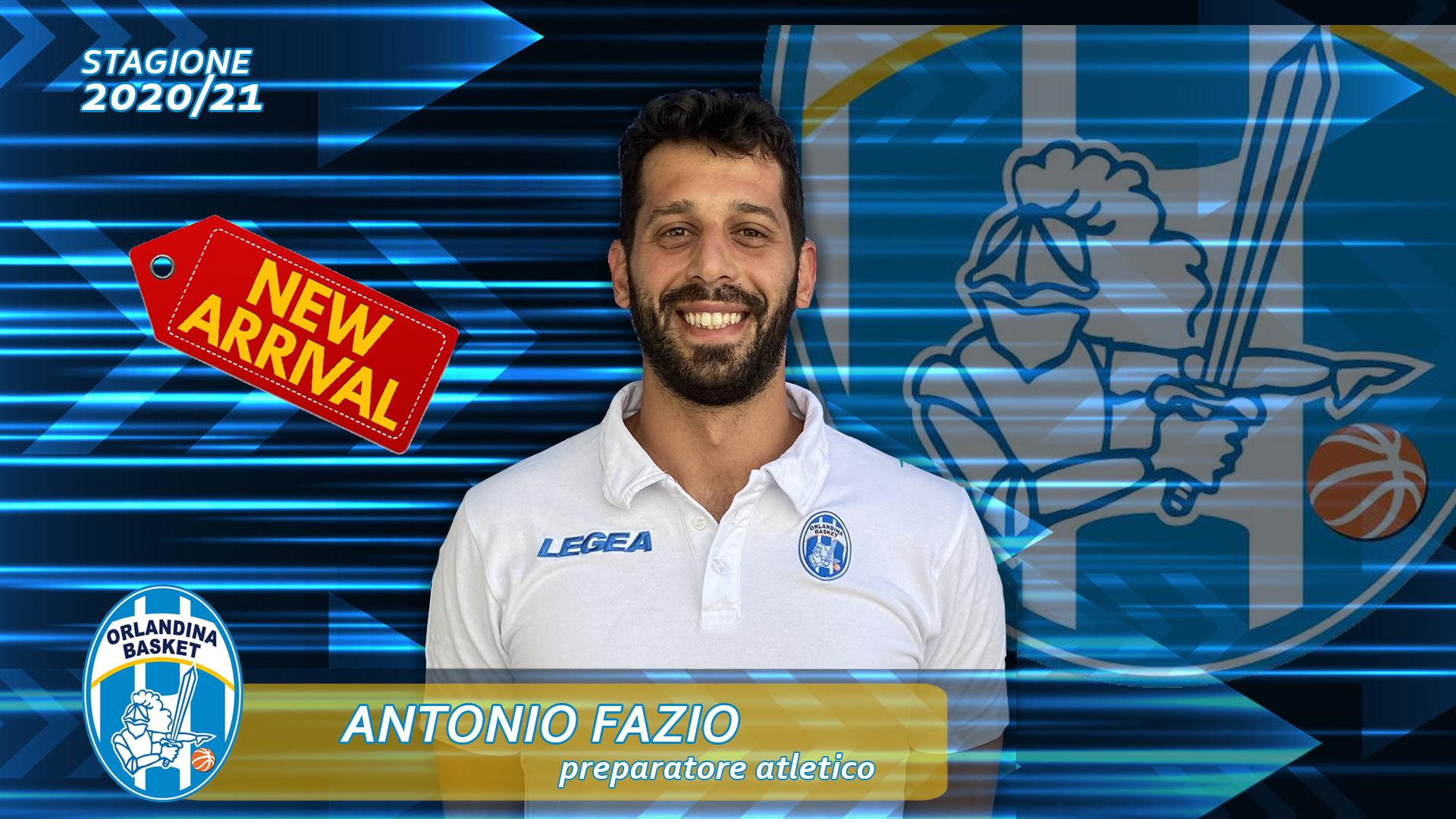 Antonio Fazio è il nuovo Preparatore Atletico dell'Orlandina Basket