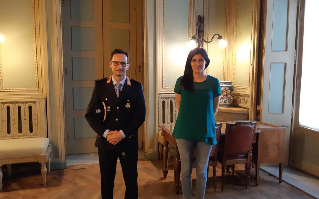 Chiara Appendino incontra Linarello