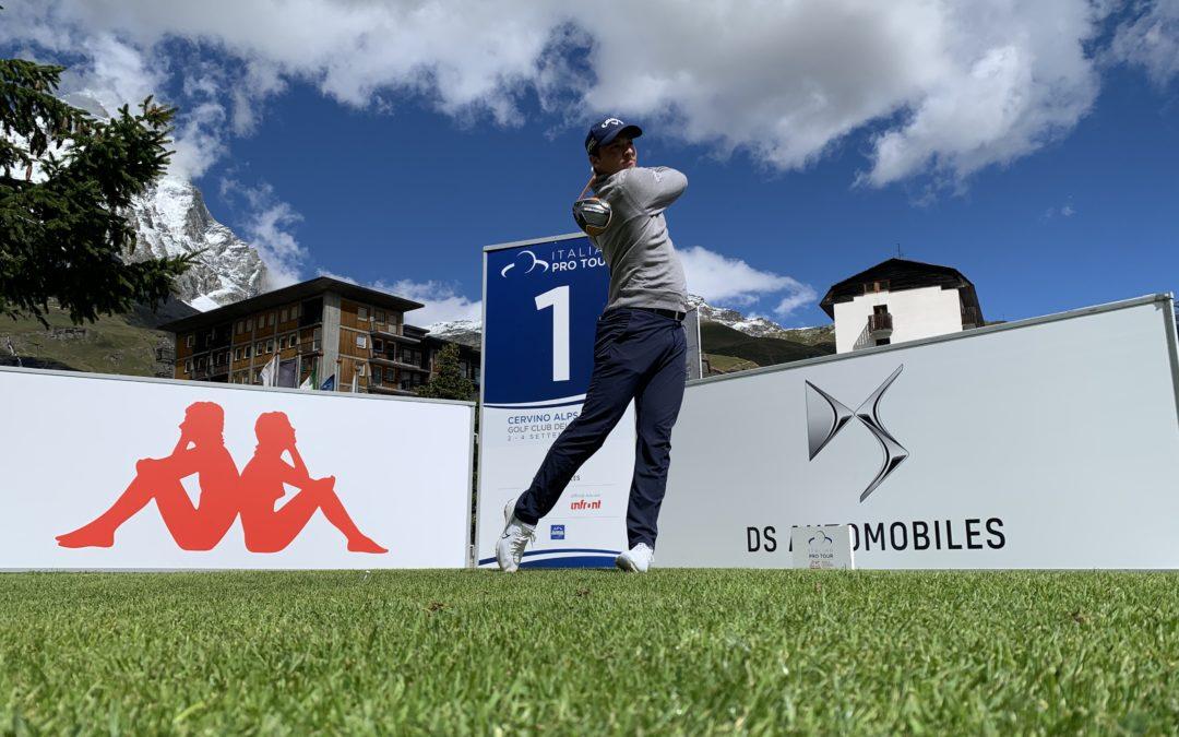 Italian Pro Tour, col Cervino Alps Open lo show del golf è ad alta quota