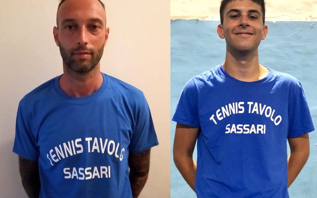 Tennis Tavolo Sassari si rinforza con Marco Sinigaglia e Marco Poma
