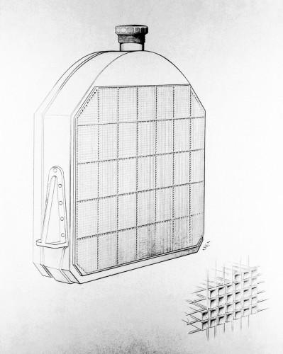 120 anni fa nasceva il radiatore con celle a nido d'ape