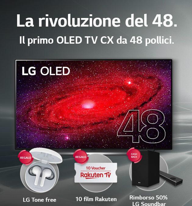 LG OLED CX: LA RIVOLUZIONE DEL 48