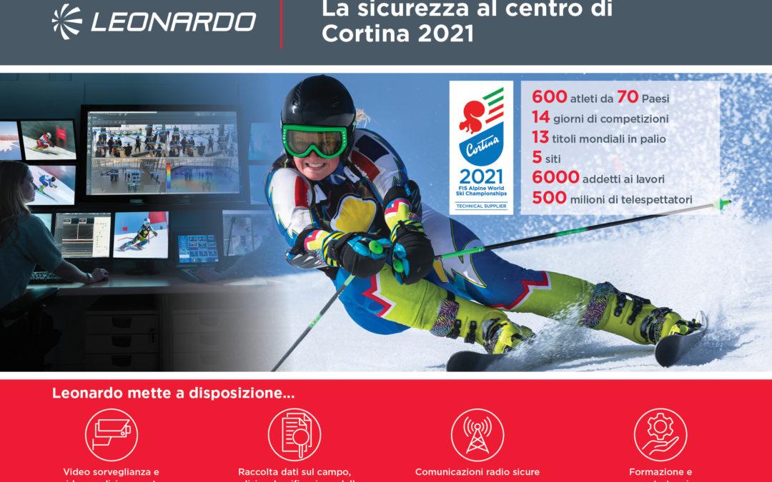 Leonardo: partner tecnologico di Cortina 2021