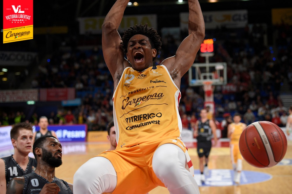Paul Eboua per l'NBA Draft Combine
