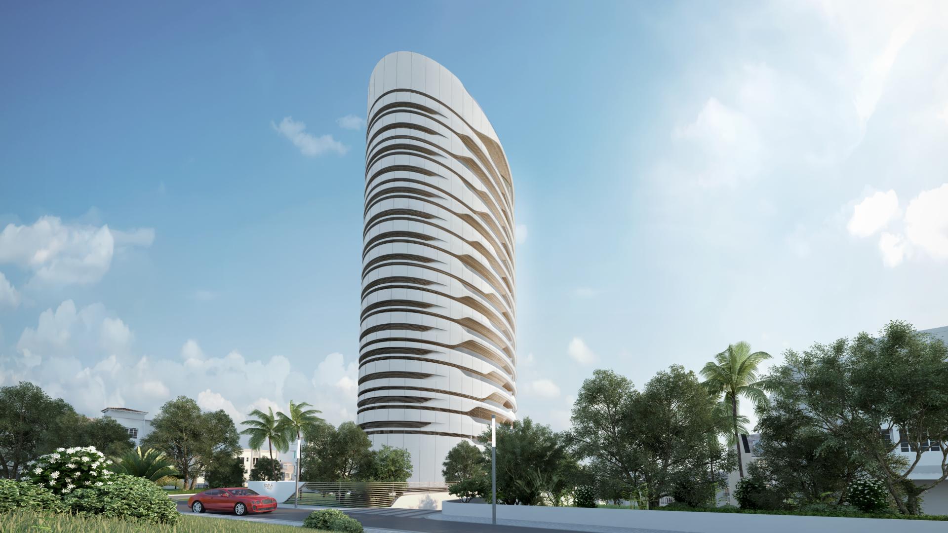 Sixty6 Tower di Pininfarina