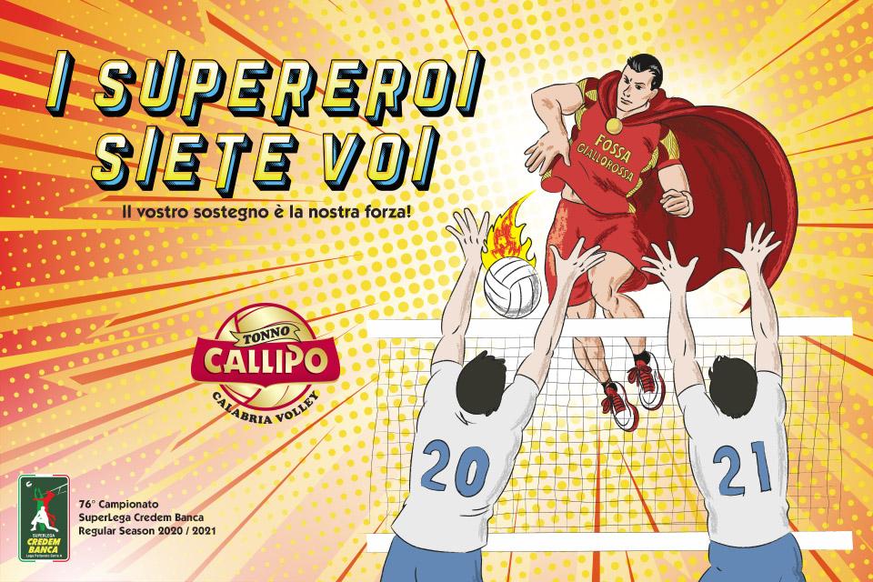 I supereroi siete voi