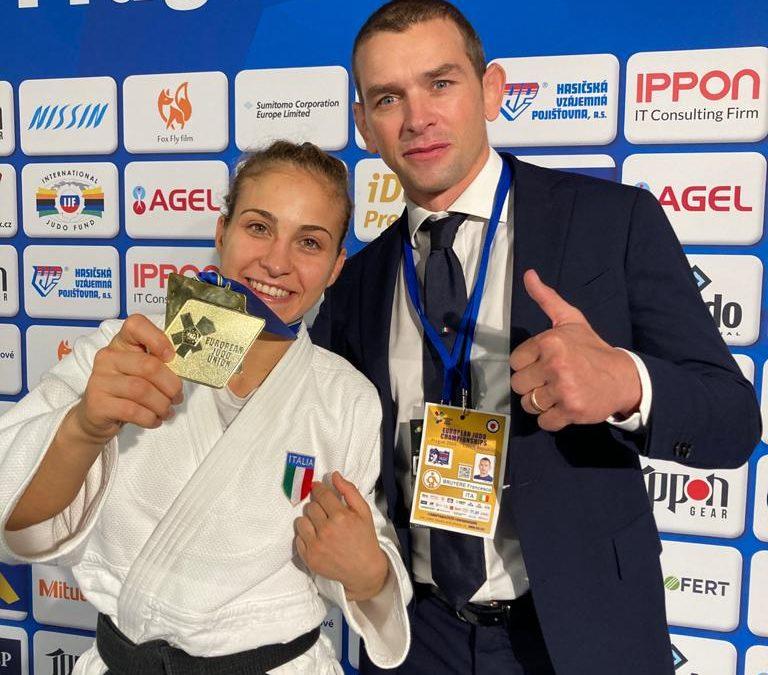 Odette Giuffrida trionfa a Praga, è campionessa d'Europa