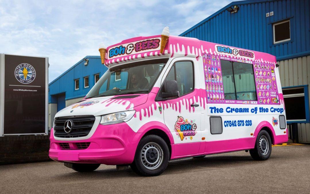 Il furgone dei gelati è tornato