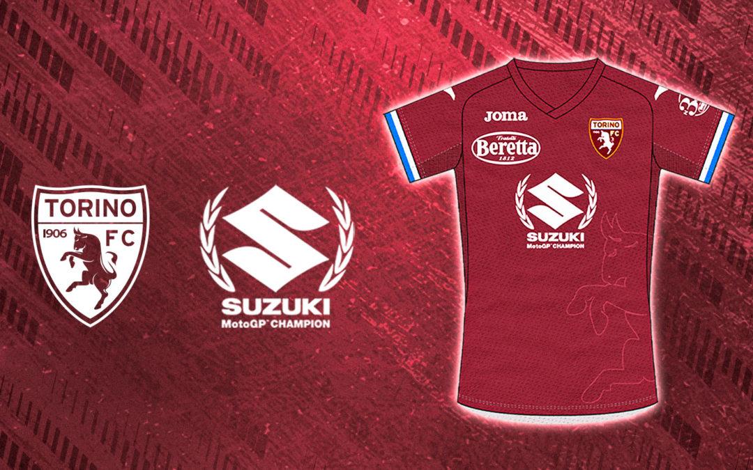 Il Torino FC celebra la vittoria Suzuki in MotoGP con una maglia unica