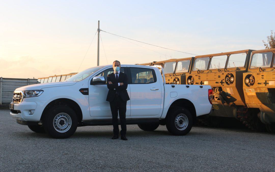 Al Ministero della Difesa una flotta di Ford Ranger