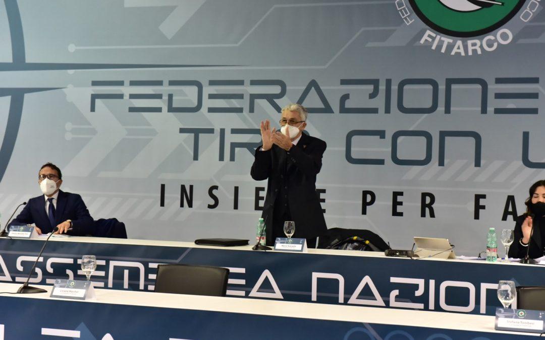 Confermato Mario Scarzella alla guida della Fitarco