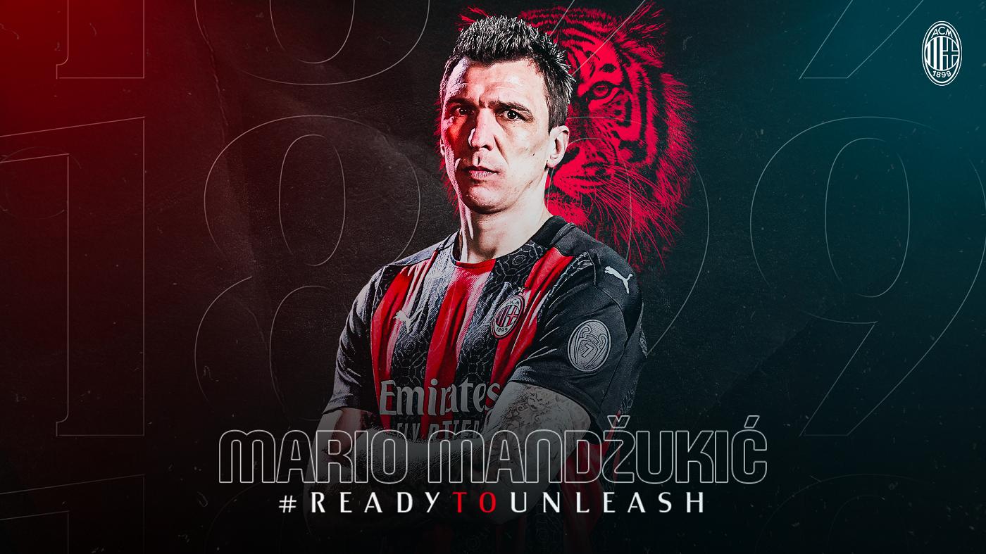 MARIO MANDŽUKIĆ L'attaccante croato è un nuovo calciatore del Milan