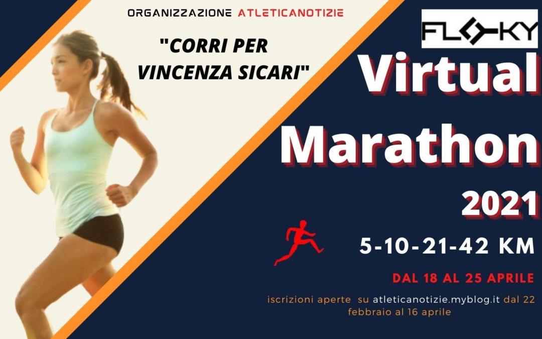 Floky Virtual Marathon 2021-Corri per Vincenza Sicari