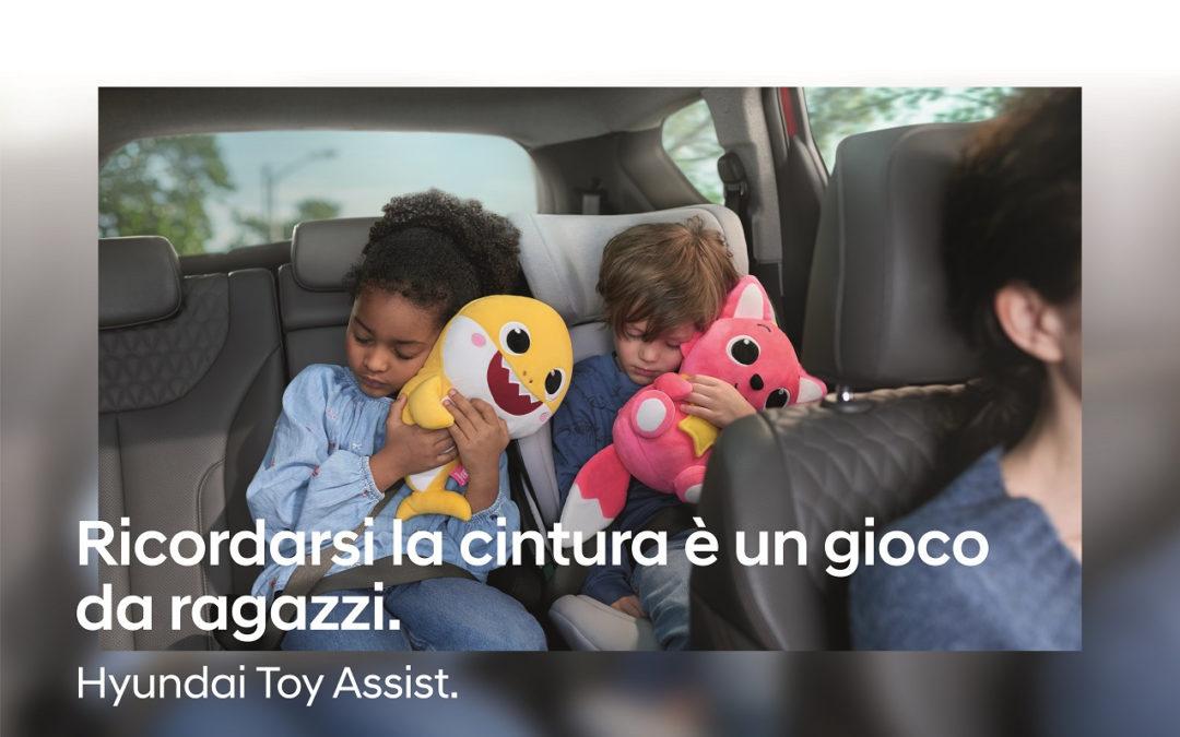 Hyundai lancia la campagna Toy Assist
