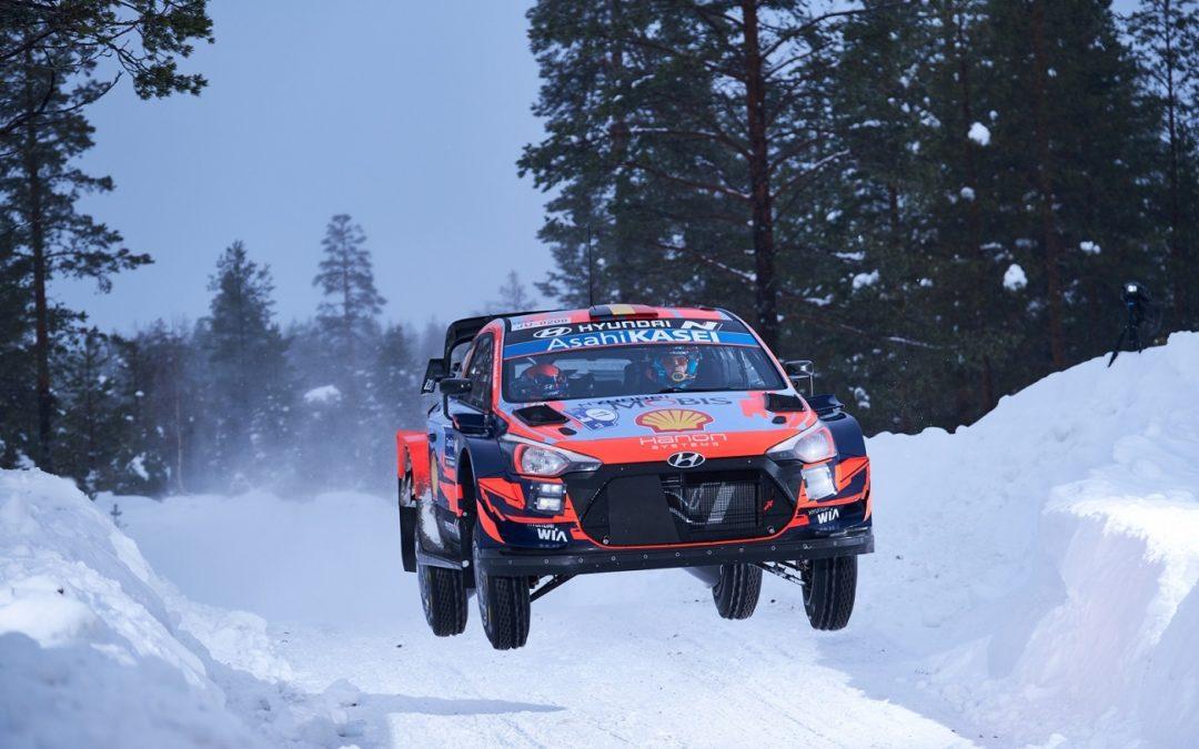 Hyundai Motorsport conquista la prima vittoria del WRC 2021