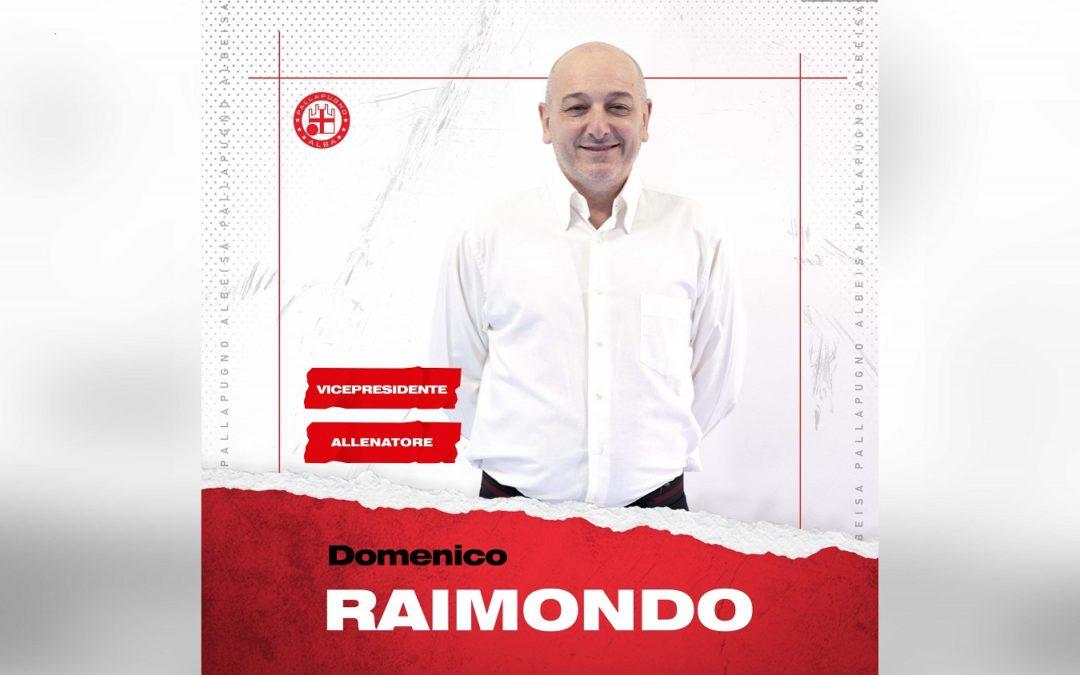 Domenico Raimondo nuovo allenatore e vicepresidente