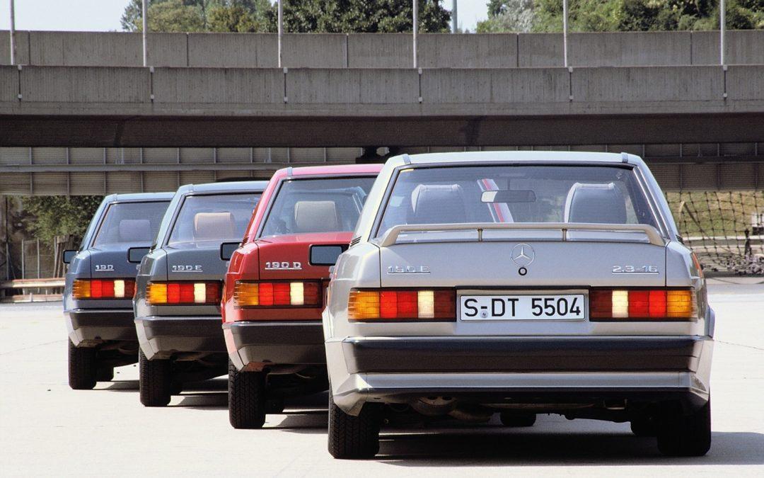 La storia di Mercedes-Benz Classe C