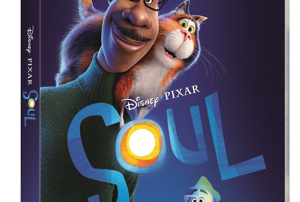 SOUL IL FILM DISNEY E PIXAR DISPONIBILE DAL 31 MARZO IN BLU-RAY, DVD E STEELBOOK®
