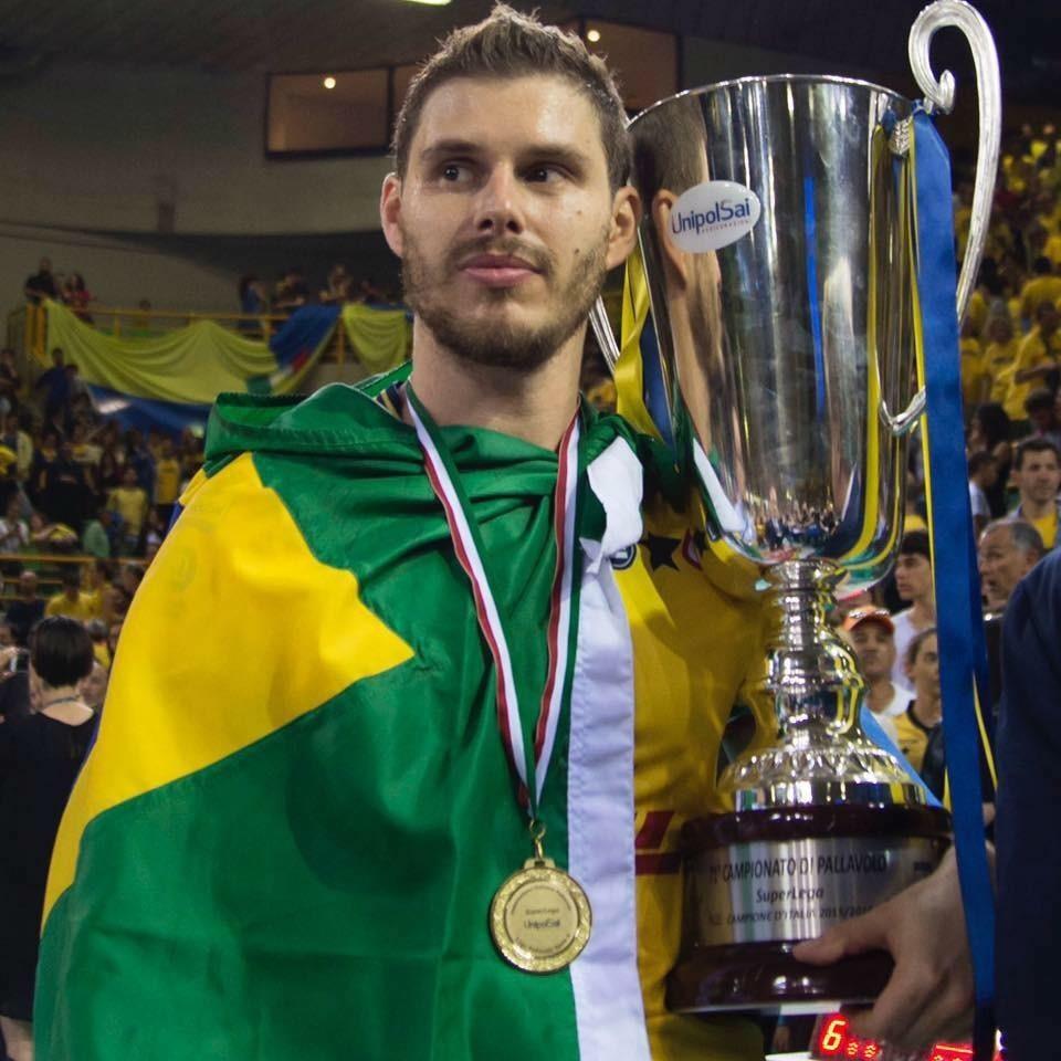 Bruno Mossa De Rezende è un giocatore di Modena Volley