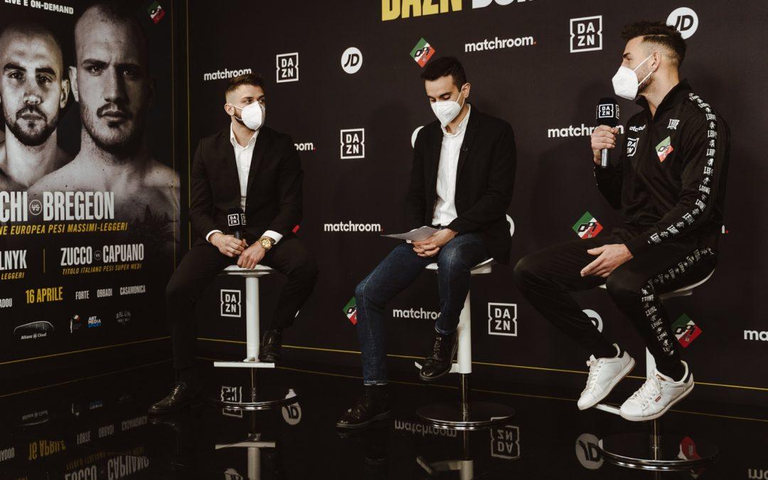 Conferenza stampa di presentazione della Milano Boxing Night