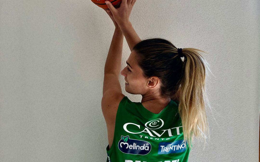 Francesca Dallapè madrina dell'Aquila Basket Earth Day 2021
