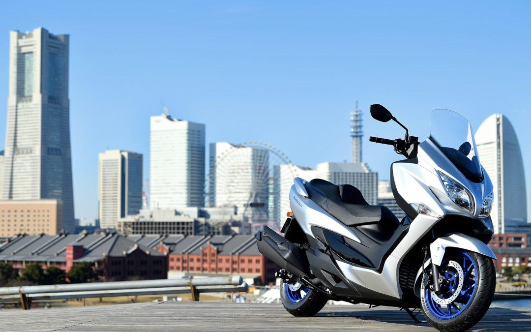 Nuovo Suzuki Burgman 400