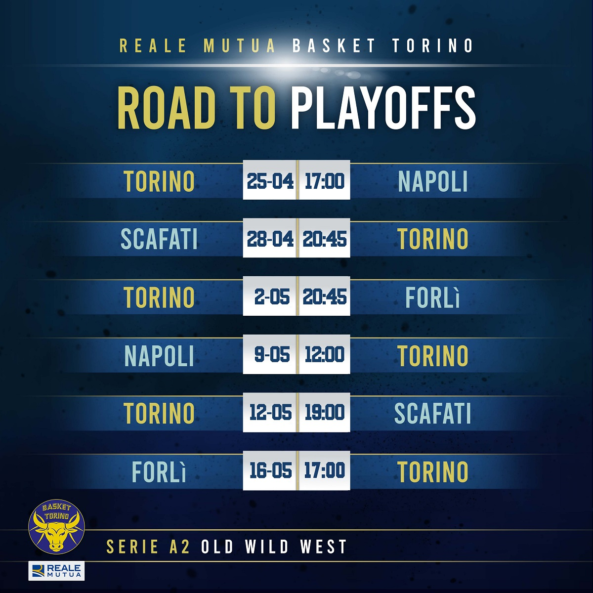 ROAD TO PLAYOFFS