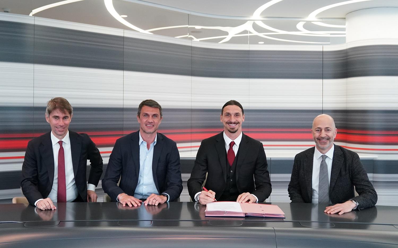 AC Milan comunica di aver rinnovato il contratto di Ibrahimović