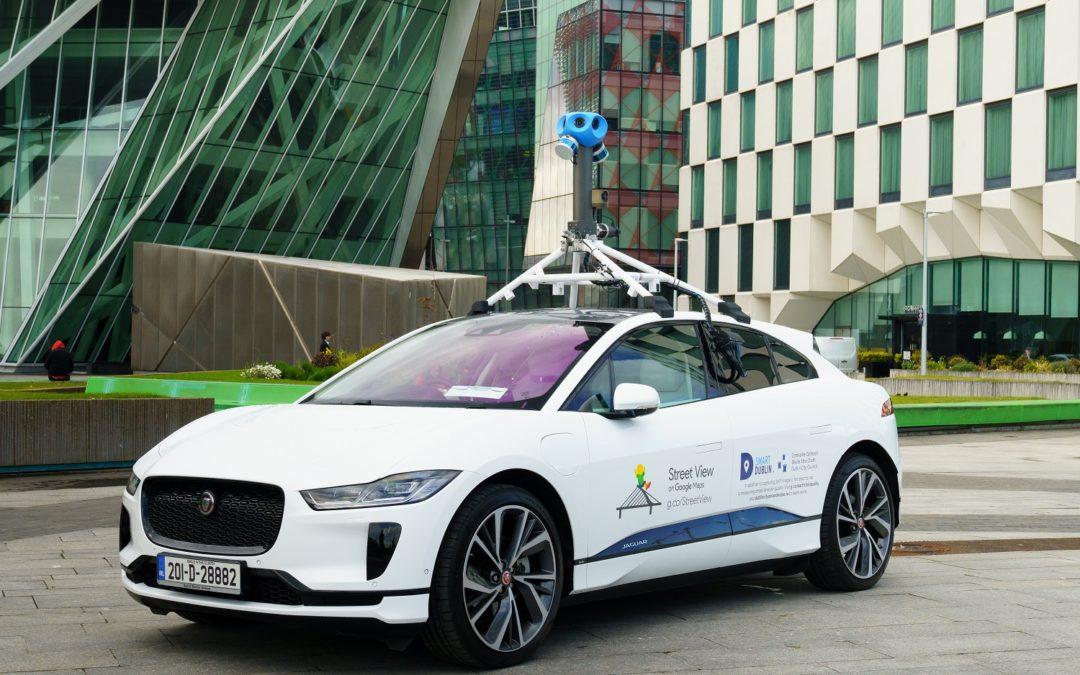 Jaguar Land Rover e Google misurano la qualità dell'aria a Dublino